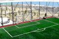 Открытая спортивная площадка c ограждением