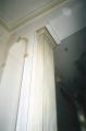 Imitation under white marble