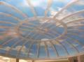 Sky scenery from decorative plaster
