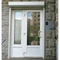 Doors metalplastic of PVC, the Profile Turkey, color white