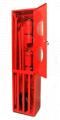 Щит пожарный металлический закрытого типа
