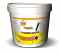 Paint front water emulsion