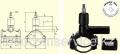Вентиль для врезки под давлением ТИП DAV(KIT) D160/32