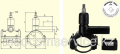 Вентиль для врезки под давлением ТИП DAV(KIT) D225/32