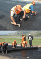 Геосетки для армирования асфальтобетонных покрытий Армосет