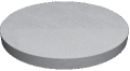 Reinforced concrete plate of the bottom of a well PN 10 brand