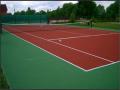 Напольное покрытие для тенниса