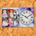 Часы настенные с фотографией