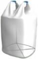 Биг-бэг полипропиленовый двухстропный, открытый верх плоское дно