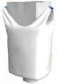 Биг-бэг полипропиленовый двухстропный, верхняя сборка (фартук)нижний люк