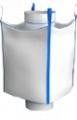 Биг-бэг полипропиленовый четырехстропный (ленточный), верхний люк нижний люк
