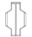 Полиэтиленовый суспендированный вкладыш с сформированной горловиной