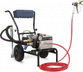 Set of the painting device with the electric drive on the EVOX-1500-220 base the T1 model