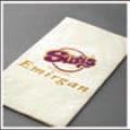 Салфетки двухслойные с фирменным логотипом клиента 33х33 см артикул 70002327