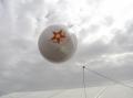 Аэростат 1,5 м для выставки Kadex 2012