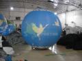 Аэростат диаметром 2.5 м с нанесением Логотипа