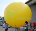 The big balloon, diameter is 2 meters