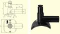 Арматура для врезки с удлиненным патрубком DAA (Kit) d63/32