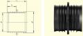 Ремонтная втулка RW d50