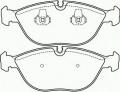 Тормозная колодка Brembo P 06 019