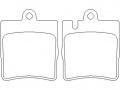 Тормозная колодка Brembo P 50 033