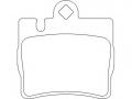 Тормозная колодка Brembo P 50 042