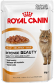 Intense Beauty (в желе) Royal Canin корм для взрослых кошек, Пакет, 12 x 0,085кг