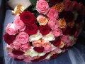 Букет из 35 местных роз