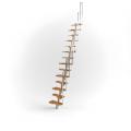 Чердачная лестница на каркасе
