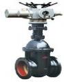 Latches pig-iron flange Z941T-10 electric drive (Ru-10) Du 400