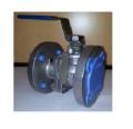 Кран шаровый фланцевый стальной Q41F-40 (Ру-40)Ду 15