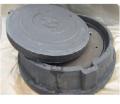 Люк полимерно-песчанный, ТИП ГТС с двойной крышкой