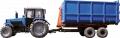 Semi-trailer container BELARUS PK-12