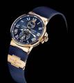 Часы Ulysse Nardin кварц синие