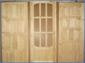 Двери банные деревянные из липы