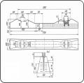 Брус стрелочный железобетонный пр. 2769