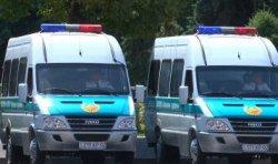 В Алматы полицейские получили 100 новых автомобилей