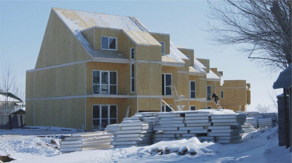 Строительство деревянно каркасных, сборно щитовых домов из сэндвич панелей