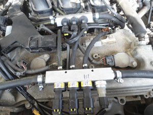 Installation of gas on Toyota Highlander