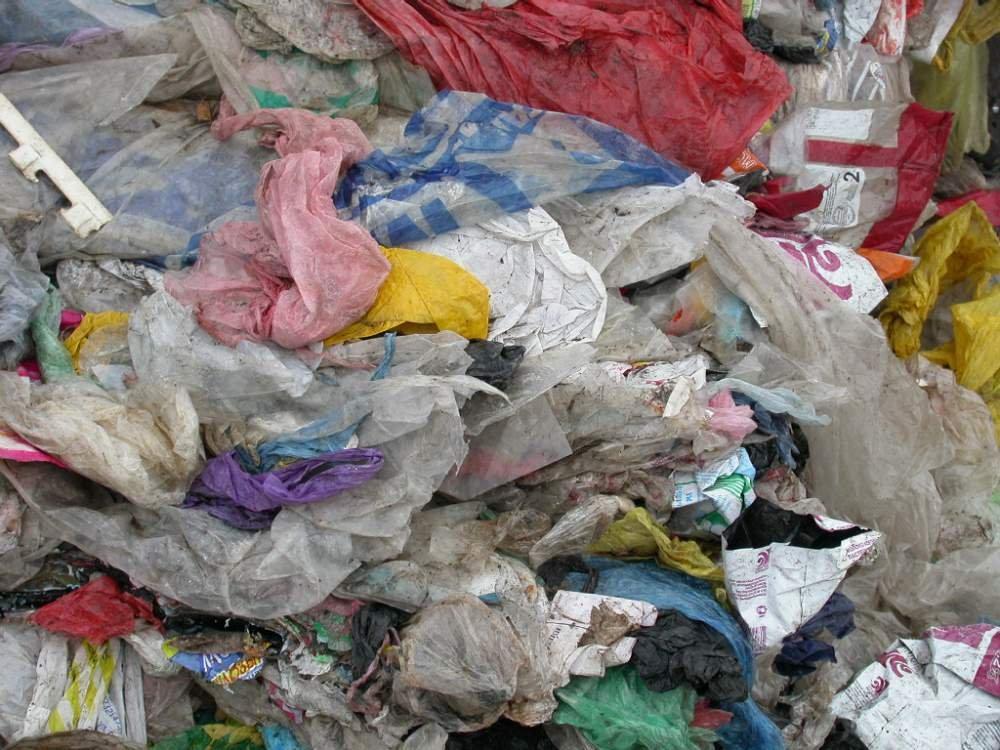 Отдам отходы пластик