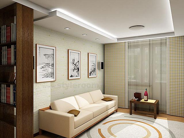 Дизайн интерьера в гостиной в хрущевке