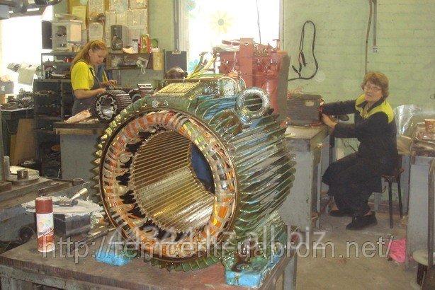 Ремонт и перемотка электродвигателей и генераторов