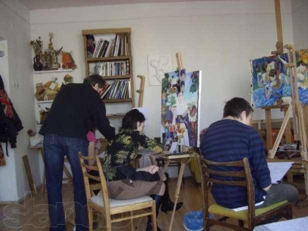 частные уроки живописи: