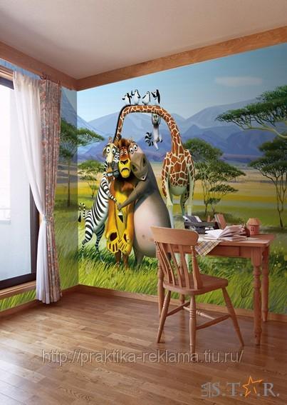 Заказать Изготовление фото обои по размерам ваших стен