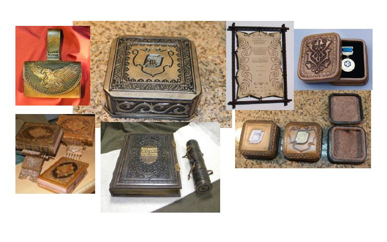 Кожаные изделия сувенирной продукции