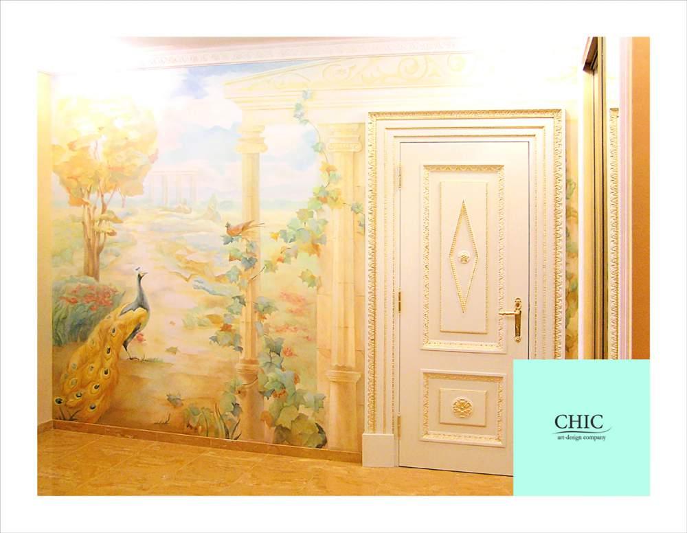 Заказать Художественные росписи стен.
