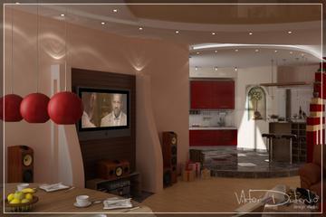 Заказать Выполнение визуализации дизайна интерьеров помещений