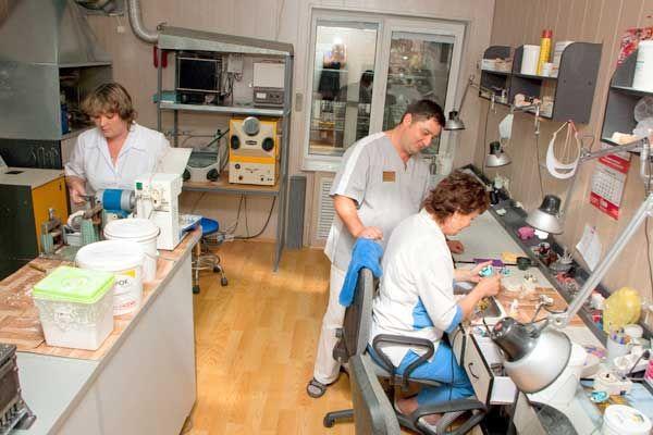 Заказать Услуги зуботехнической лаборатории