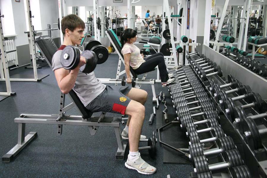 тренажерный зал для похудения ног