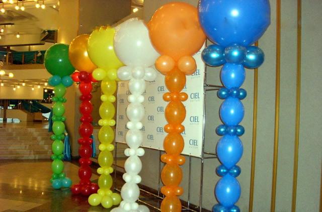 Как сделать украшения из воздушных шаров своими руками